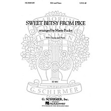G. Schirmer Sweet Betsy from Pike (SSA and Piano) SSA composed by American Folksong