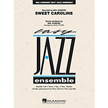 Hal Leonard Sweet Caroline Jazz Band Level 2 by Neil Diamond Arranged by Rick Stitzel