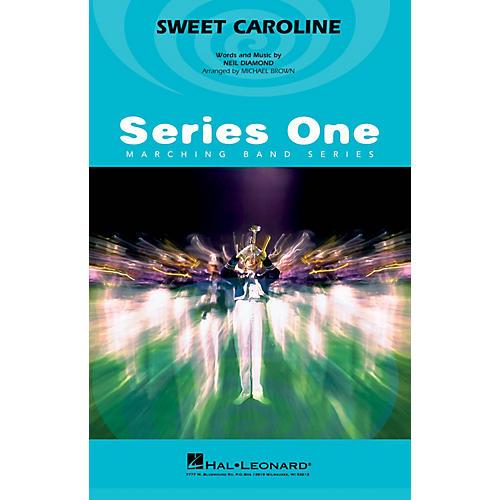 Hal Leonard Sweet Caroline Marching Band Level 2 by Neil Diamond Arranged by Michael Brown