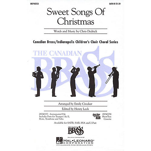 Hal Leonard Sweet Songs of Christmas 2-Part Composed by Christopher Dedrick