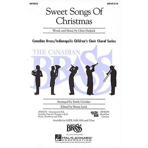 Hal Leonard Sweet Songs of Christmas IPAKB Composed by Christopher Dedrick