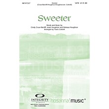 Integrity Music Sweeter Split/Stereo Trax Arranged by Travis Cottrell
