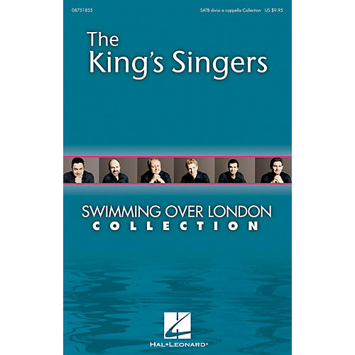 Hal Leonard Swimming over London (Collection) SATB DV A Cappella by The King's Singers