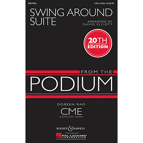 Boosey and Hawkes Swing Around Suite (CME From the Podium) 3 Part Treble arranged by David Elliott