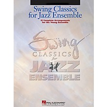 Hal Leonard Swing Classics for Jazz Ensemble - Bass Jazz Band Level 3 Composed by Various