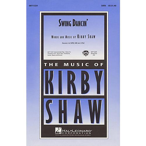 Hal Leonard Swing Dancin' ShowTrax CD Composed by Kirby Shaw