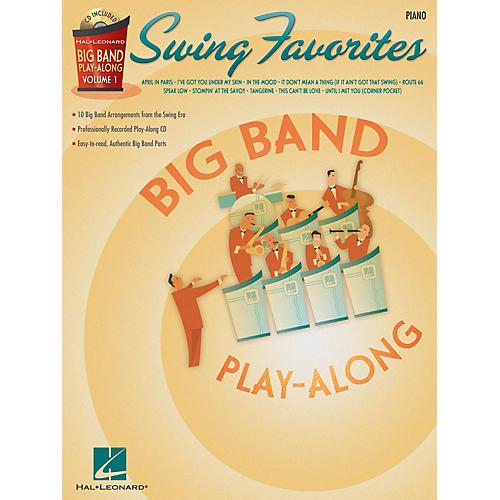 Hal Leonard Swing Favorites - Piano (Big Band Play-Along Volume 1) Big Band Play-Along Series Softcover with CD