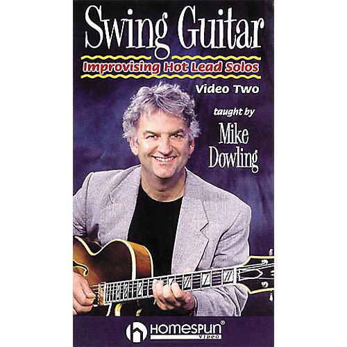 Homespun Swing Guitar - Improvising Hot Lead Solos (VHS)