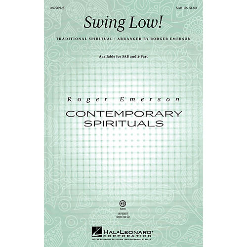 Hal Leonard Swing Low! SAB arranged by Roger Emerson