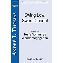 Hinshaw Music Swing Low, Sweet Chariot SSAATTBB arranged by Tesfa Yohannes Wondemagegnehu