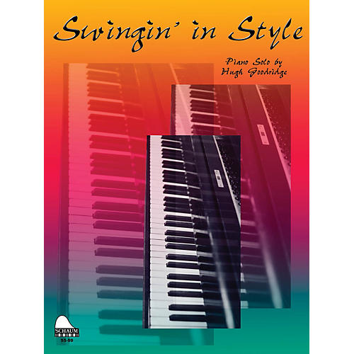 SCHAUM Swingin' In Style Educational Piano Series Softcover
