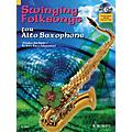 Hal Leonard Swinging Folksongs Play-along For Alto Saxophone Bk/CD With Piano Parts To Print Woodwind Solo Series thumbnail