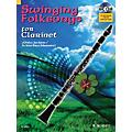Hal Leonard Swinging Folksongs Play-along For Clarinet Bk/CD With Piano Parts To Print Woodwind Solo Series thumbnail