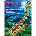 Hal Leonard Swinging Folksongs Play-along For Tenor Saxophone Bk/CD With Piano Parts To Print Woodwind Solo Series thumbnail