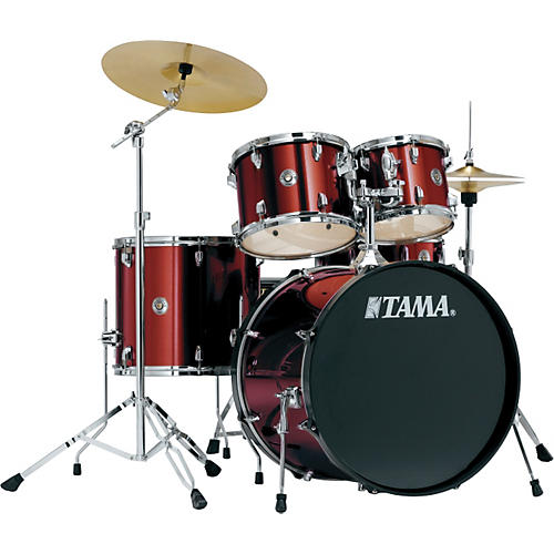 tama swingstar drum set with cymbals musician 39 s friend. Black Bedroom Furniture Sets. Home Design Ideas