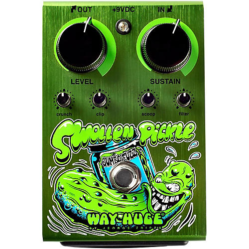 Way Huge Electronics Swollen Pickle Jumbo Fuzz Dirty Donny Edition Guitar Effects Pedal