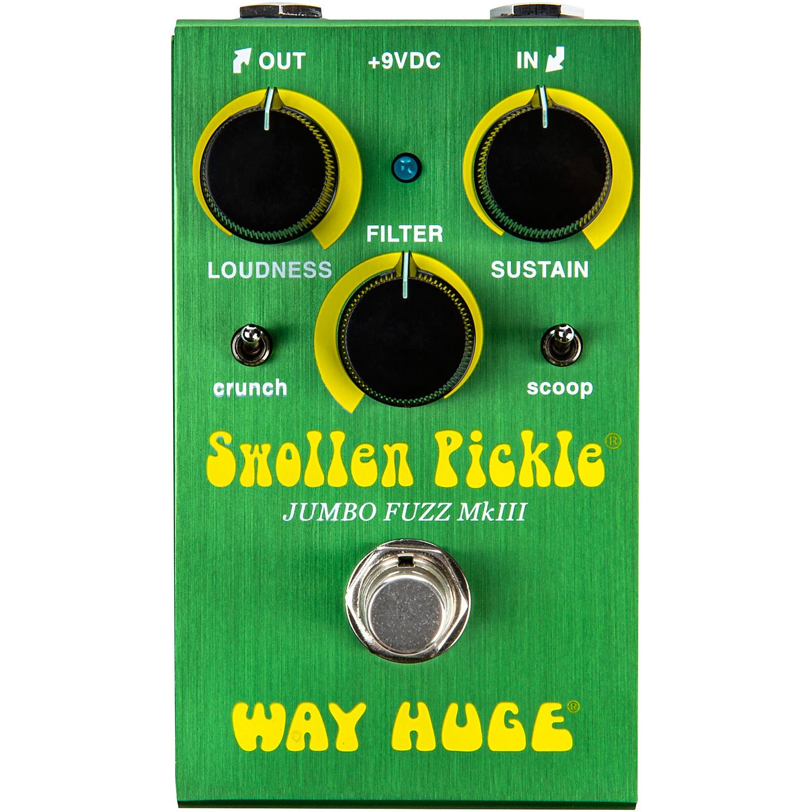 Way Huge Electronics Swollen Pickle Jumbo Fuzz Effects Pedal