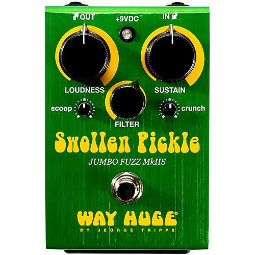 Way Huge Electronics Swollen Pickle Jumbo Fuzz MkIIS Guitar Effects Pedal Condition 1 - Mint
