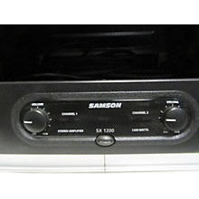 Samson Sx1200 Power Amp