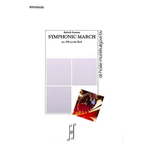 De Haske Music Symphonic March Concert Band Level 5 Composed by Wil Van der Beek