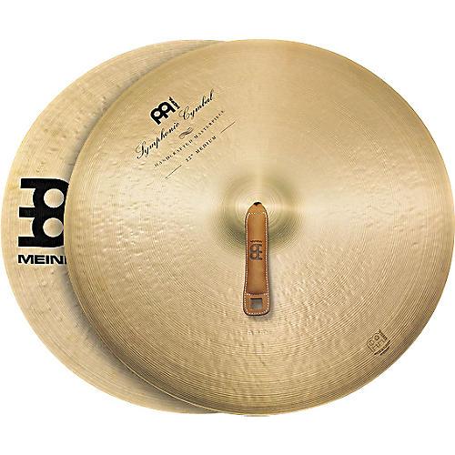 Meinl Symphonic Medium Cymbal Pair 22 in.
