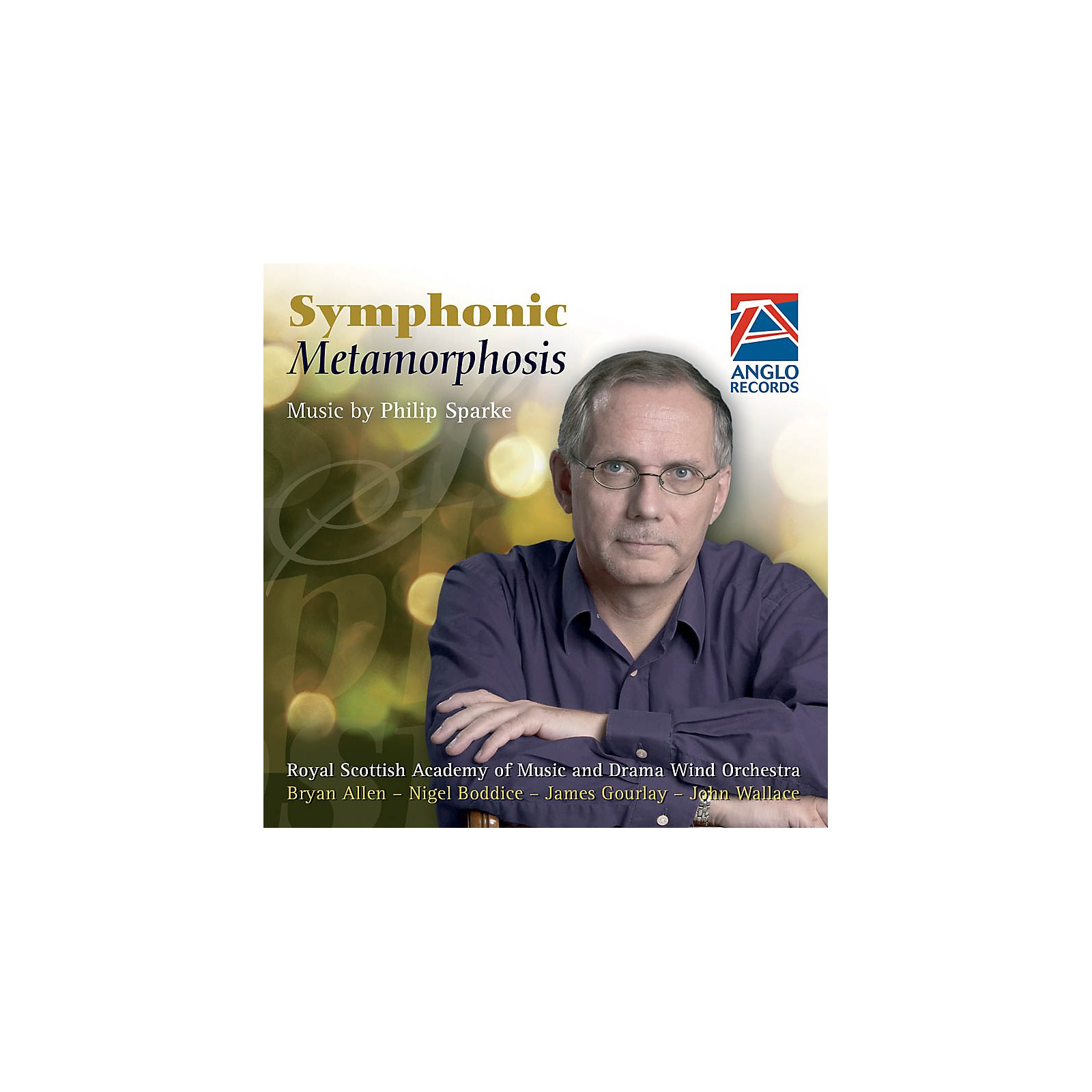 Anglo Music Press Symphonic Metamorphosis (Anglo Music Press CD) Concert Band Composed by Philip Sparke