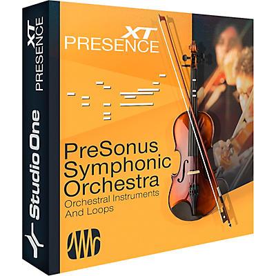 Presonus Symphonic Orchestra Software Download