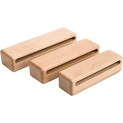 Schlagwerk Symphonic Series Solid HardRock Maple Wood Block Set of 3