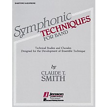 Hal Leonard Symphonic Techniques for Band (Trombone & Bassoon) Concert Band Level 2-3 Composed by Claude T. Smith