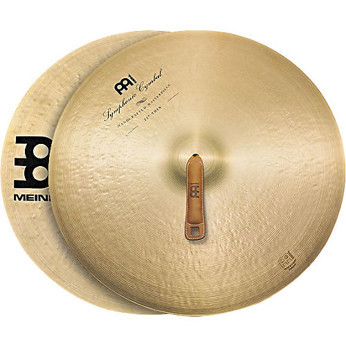 Meinl Symphonic Thin Cymbal Pair Condition 1 - Mint 22 in.
