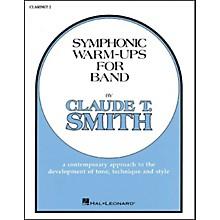 Hal Leonard Symphonic Warm-Ups For Band For B Flat Clarinet 2