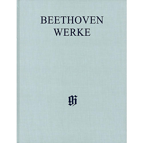 G. Henle Verlag Symphonies III Henle Edition Hardcover by Beethoven Edited by Jens Dufner