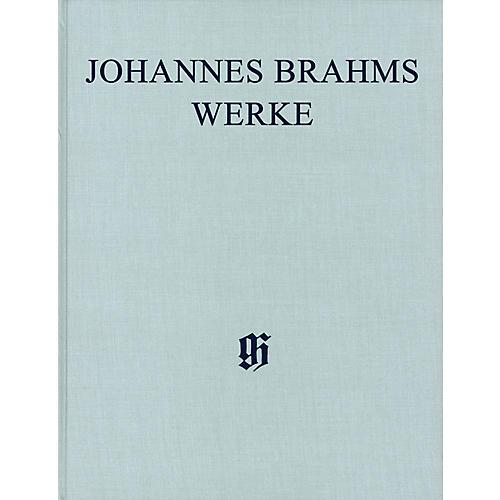 G. Henle Verlag Symphonies No. 1 in C minor, Op. 68 and No. 2 in D Major, Op. 73 Henle Complete Edition Series Hardcover