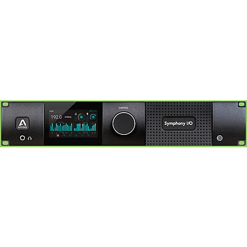 Apogee Symphony I/O MKII Dante Chassis with 16 Analog In + 16 Analog Out+8 Analog In + 8 Analog Out (Both slots populated)