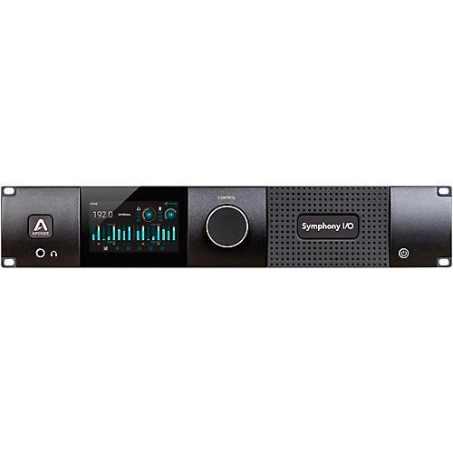 Apogee Symphony I/O MKII Dante Chassis with 8x8 Analog I/O + 8x8 AES/Optical I/O + 2-Ch S/PDIF
