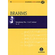 Eulenburg Symphony No. 1 in C minor, Op. 68 Eulenberg Audio plus Score with CD by Brahms Edited by Richard Clarke
