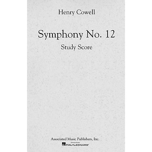Associated Symphony No. 12 (Full Score) Study Score Series Composed by Henry Cowell