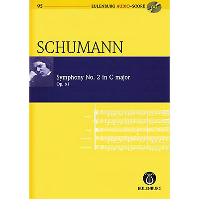 Schott Symphony No. 2 in C Major, Op. 61 Study Score Series Softcover with CD Composed by Robert Schumann