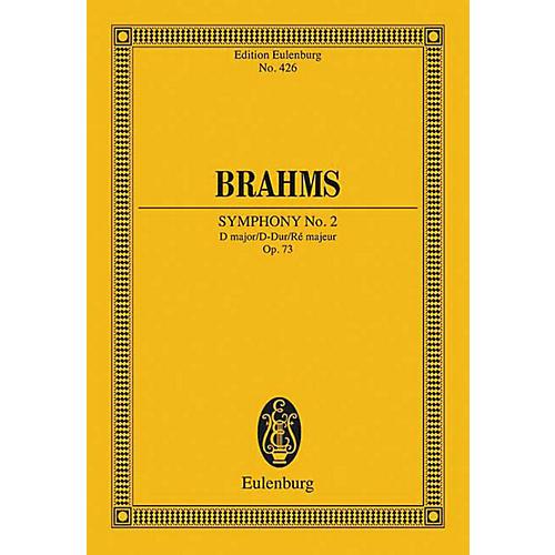Eulenburg Symphony No. 2 in D Major, Op. 73 (Study Score) Schott Series Composed by Johannes Brahms