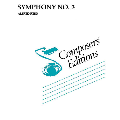 Hal Leonard Symphony No. 3 Concert Band Level 5 Composed by Alfred Reed