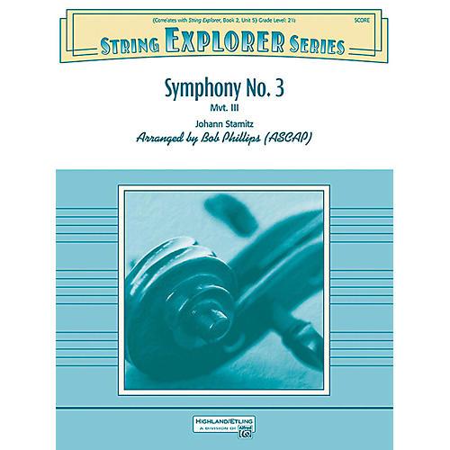 Alfred Symphony No. 3 String Orchestra Grade 2.5