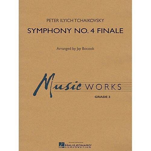 Hal Leonard Symphony No. 4 - Finale Concert Band Level 3 Arranged by Jay Bocook