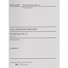 Associated Symphony No. 4, Op. 63 (Full Score) Study Score Series Composed by Wallingford Riegger