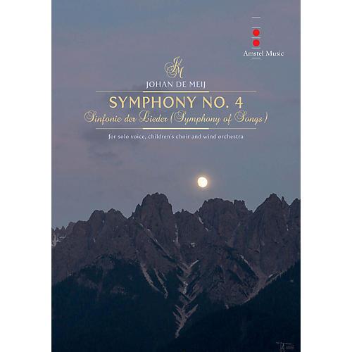Amstel Music Symphony No. 4 (Sinfonie Der Lieder) Concert Band Composed by Johan de Meij