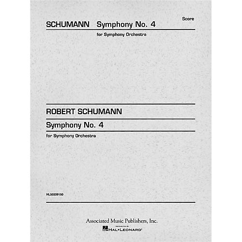 G. Schirmer Symphony No. 4 in D minor, Op. 120 (Study Score No. 159) Study Score Series Composed by Robert Schumann