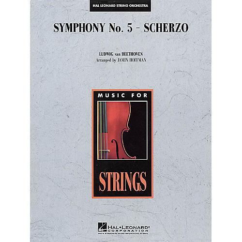 Hal Leonard Symphony No. 5 - Scherzo Music for String Orchestra Series Arranged by Jamin Hoffman