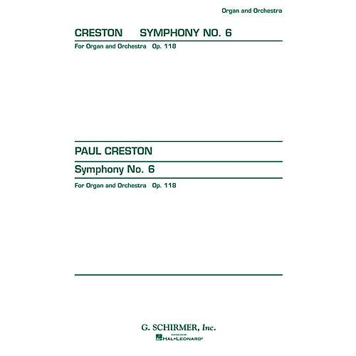 G. Schirmer Symphony No. 6, Op. 118 (Study Score No. 151) Study Score Series Composed by Paul Creston
