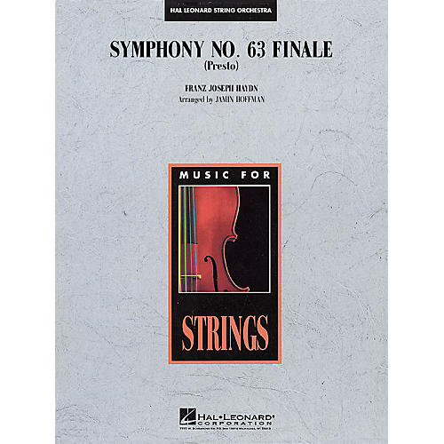 Hal Leonard Symphony No. 63 Finale (Presto) Music for String Orchestra Series Softcover Arranged by Jamin Hoffman
