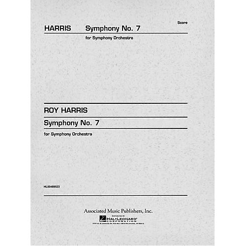 Associated Symphony No. 7 (Full Score) Study Score Series Composed by Roy Harris