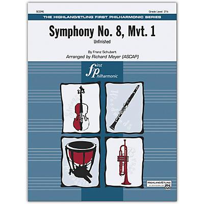 Alfred Symphony No. 8, Mvt. 1 Conductor Score 2.5